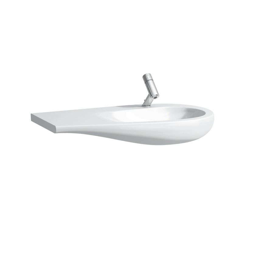 814976 - Laufen Alessi One 900mm x 500mm Washbasin (Left Shelf) - 8.1497.6